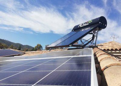 Energía solar térmica en el Brillante