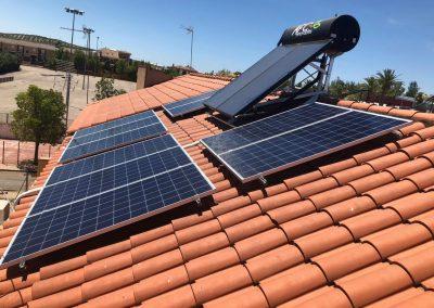 Energía solar térmica y aerotermia en Bailén