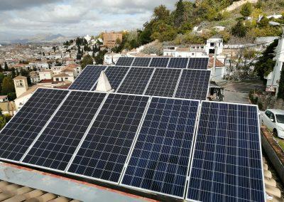 Instalación de placas solares de 5 kw en Granada