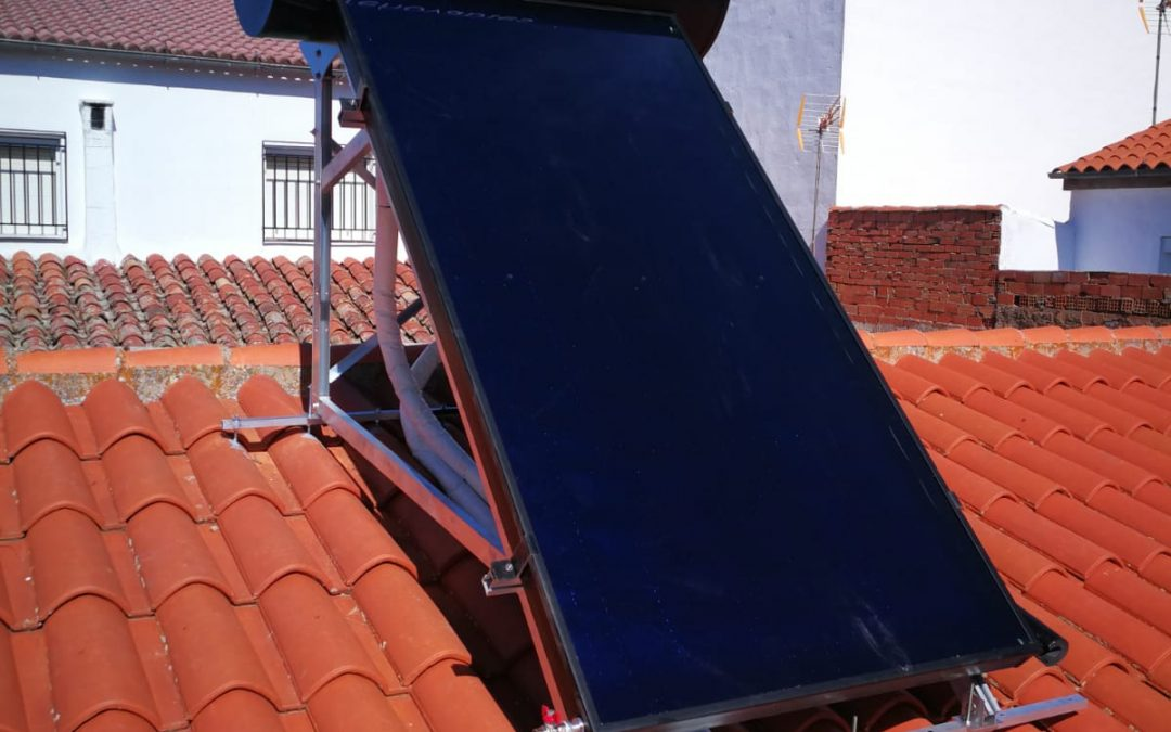 Energía solar térmica en Mancha Real