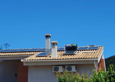 Instalación de autoconsumo, energía térmica y climatización