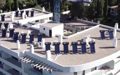 Instalación en un residencial en Puente Nuevo de Jaén